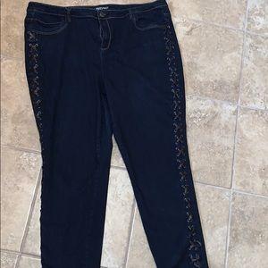 Lane Bryant Skinny Women Jeans Size 28